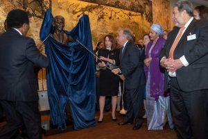 Nelson Mandela statue unveiled at UN headquarters