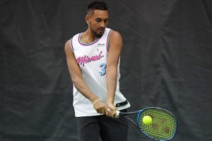 Nick Kyrgios 'pep talk' umpire suspended?