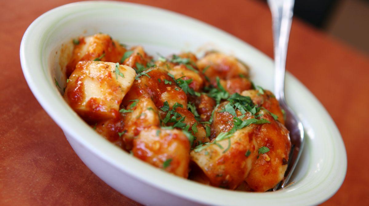Aloo (Potato) chaat