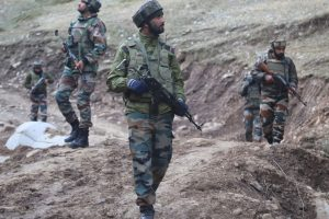 Intruder gunned down on LoC in Rajouri