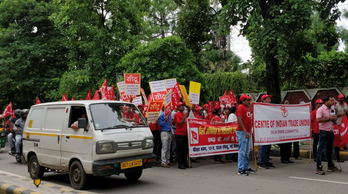 Mazdoor-Kisan Sangharsh Rally