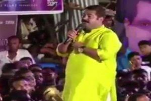Now, a Congress shocker: Ex-minister Subodh Saoji announces Rs 5 lakh for chopping off BJP MLA Ram Kadam's tongue