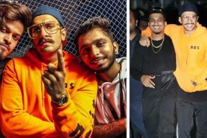 Ranveer Singh and rapper Divine sets the stage on fire at Gully Fest