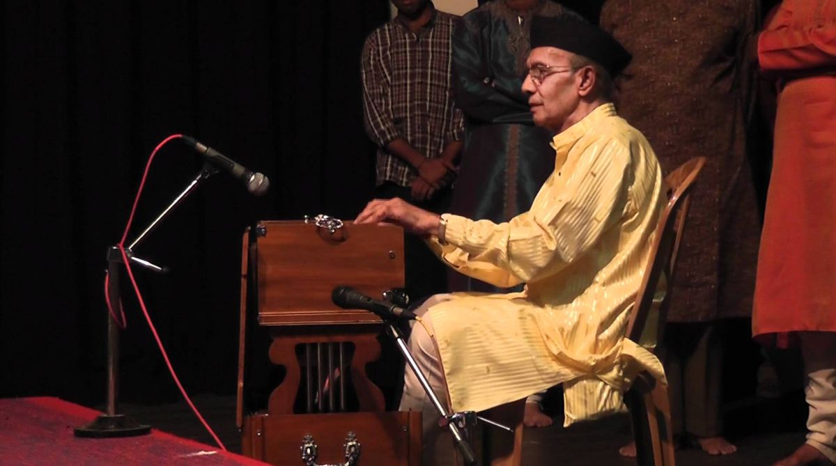 Renowned harmonium exponent Pt. Tulsidas Borkar passes away