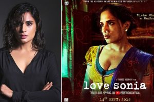 Richa Chadha reveals her inspiration for 'Love Sonia'