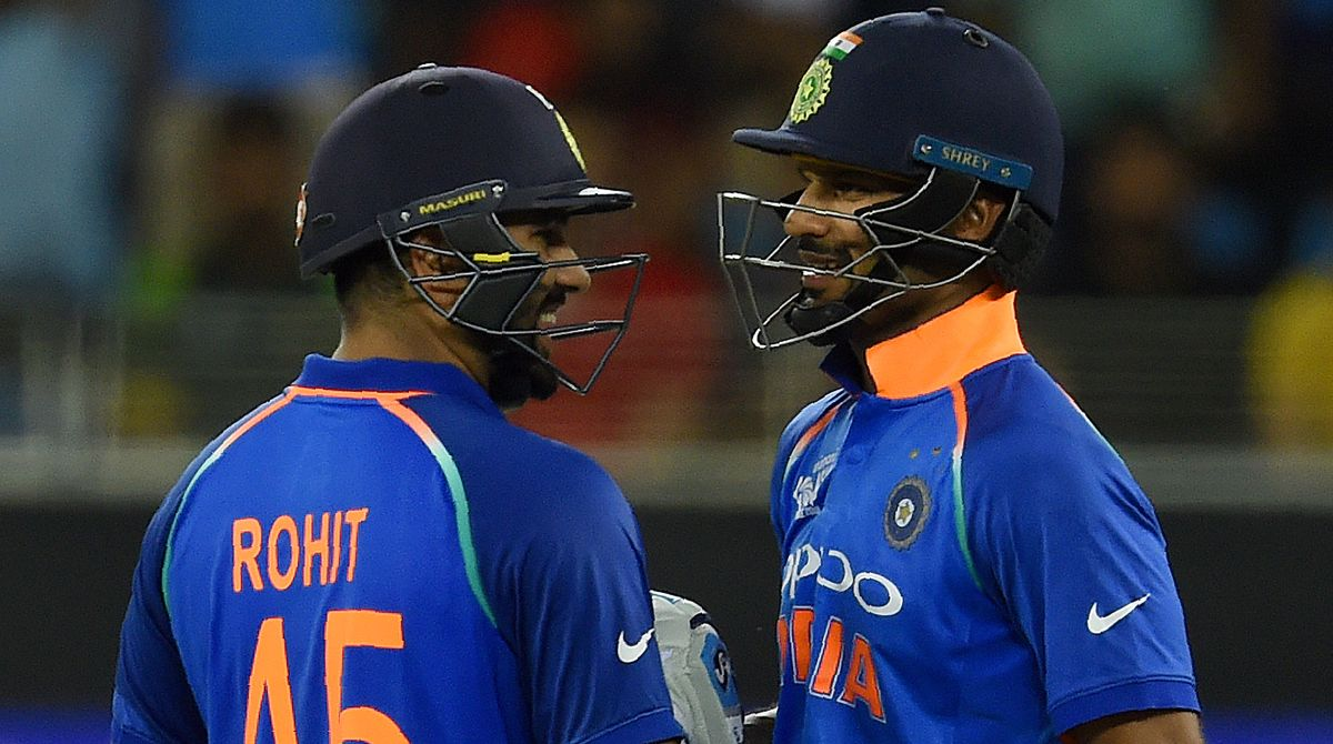 Rohit Sharma, Shikhar Dhawan become 2nd most successful opening pair for India in ODIs