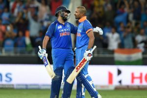 Partnership with Dhawan was crucial, says Rohit Sharma