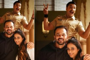 Simmba: Tabu drops by to meet Ranveer Singh, Rohit Shetty