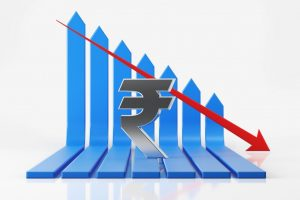 Rupee slumps 27 paise to close at 3-week low of 73.95 against US dollar