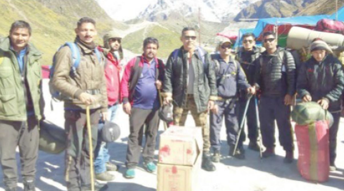 Uttarakhand government, Missing trekkers, IIT Roorkee students, Kedarnath,SDRF, Gopal Singh Chauhan