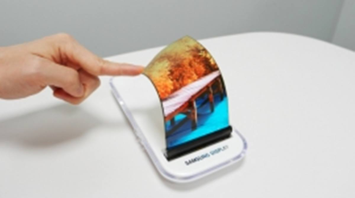 Samsung foldable smartphone, foldable smartphone, foldable phone, Samsung foldable phone, Samsung Electronics, Samsung developers' conference