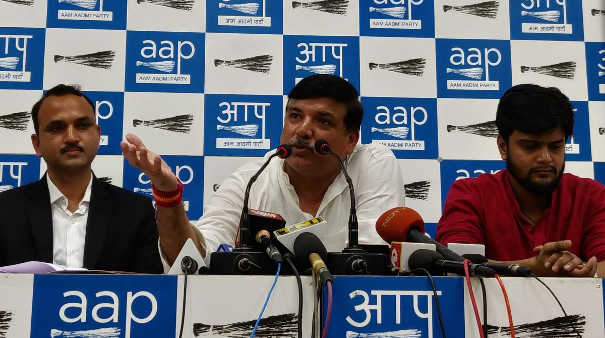 Rafale row, AAP MP, Sanjay Singh, Legal notice, Defence Minister, Nirmala Sitharaman