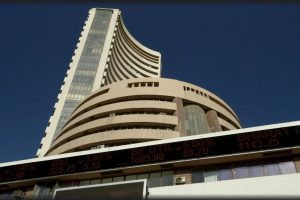 Sensex down 150 points, rupee at 73