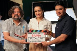 Shraddha Kapoor starts shooting for Saina Nehwal's biopic