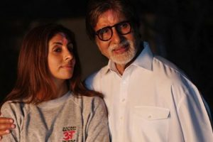 Shweta Bachchan to launch debut novel on Big B's birthday eve