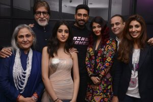Family and B-town friends in full attendance at Shweta Bachchan's store launch