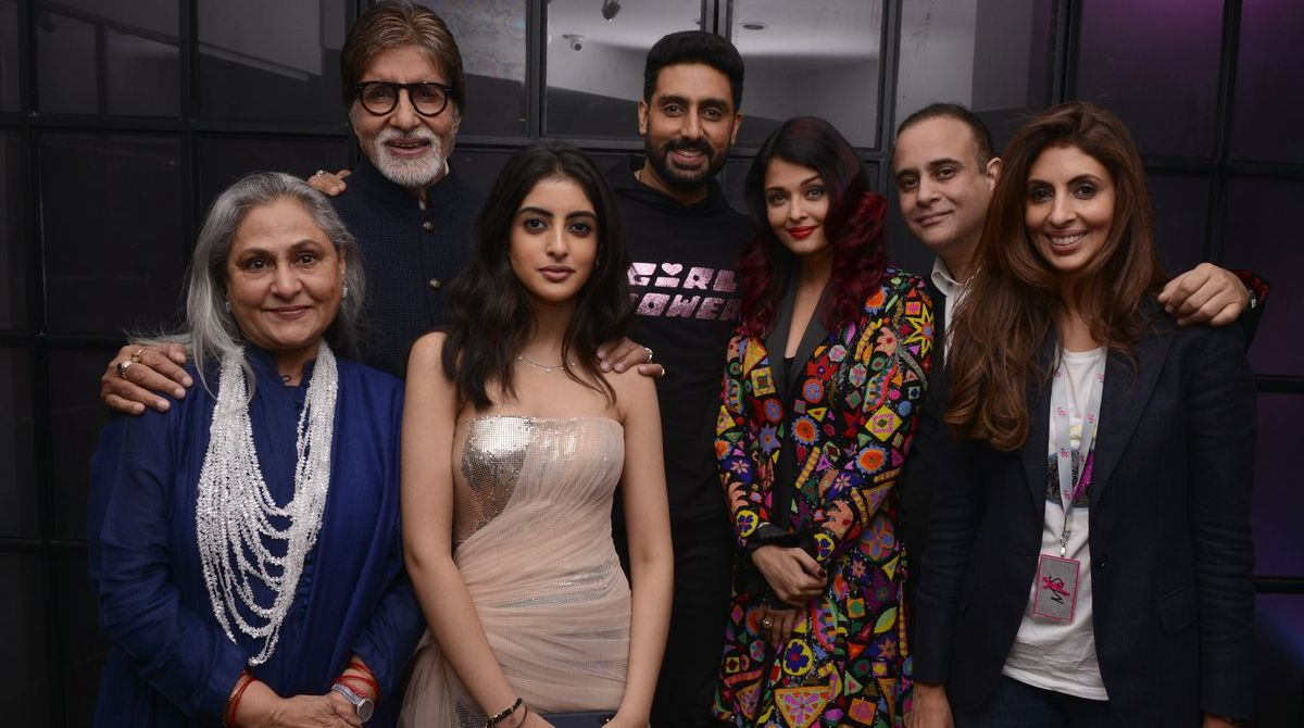 Family and B-town friends in full attendance at Shweta ...Navya Naveli Nanda Father
