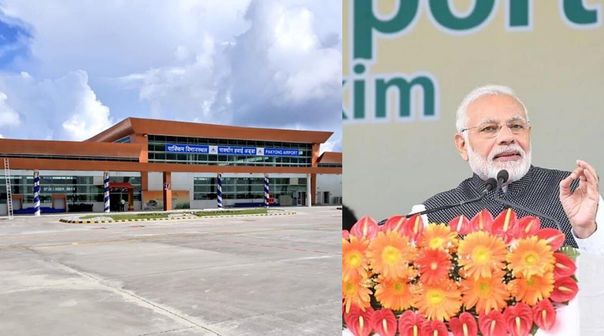 PM Modi inaugurates Pakyong airport; India gets 100th airport, Sikkim its first