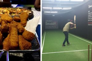 Vasant Kunj's Smaaash offers a perfect mix of games and food