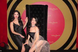 Sunny Leone unveils her wax statue at Madame Tussauds Delhi