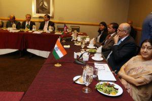 SAARC meet: Sushma Swaraj avoids interaction with Shah Mahmood Qureshi