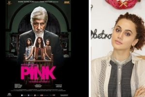Tapsee Pannu is proud to be the Pink girl