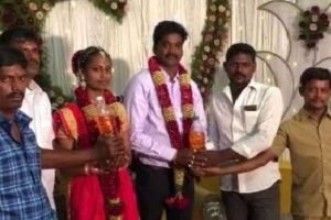 Tamil couple get four litre petrol as wedding gift!