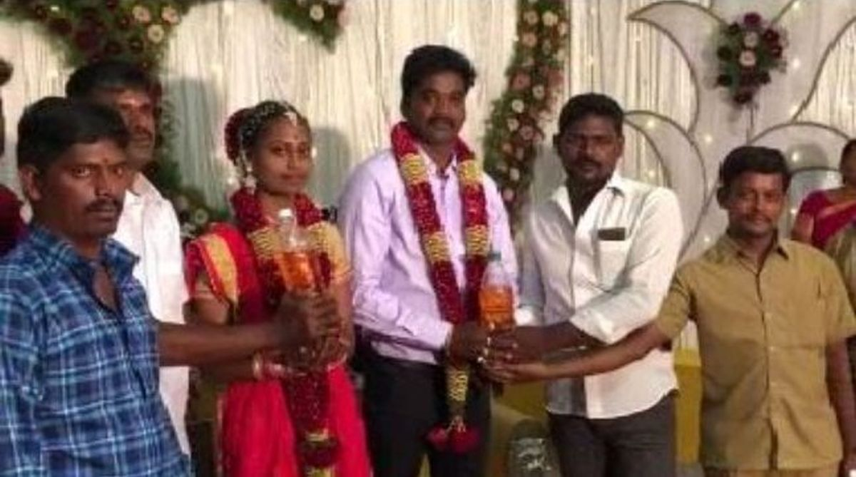 Tamil couple get four litre petrol as