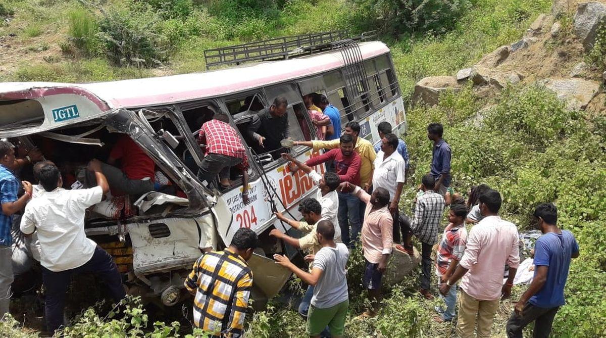 Telangana accident