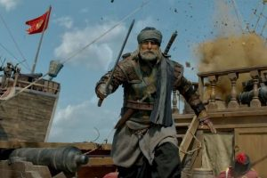 Thugs Of Hindostan is redeemed by Bachchan's towering presence