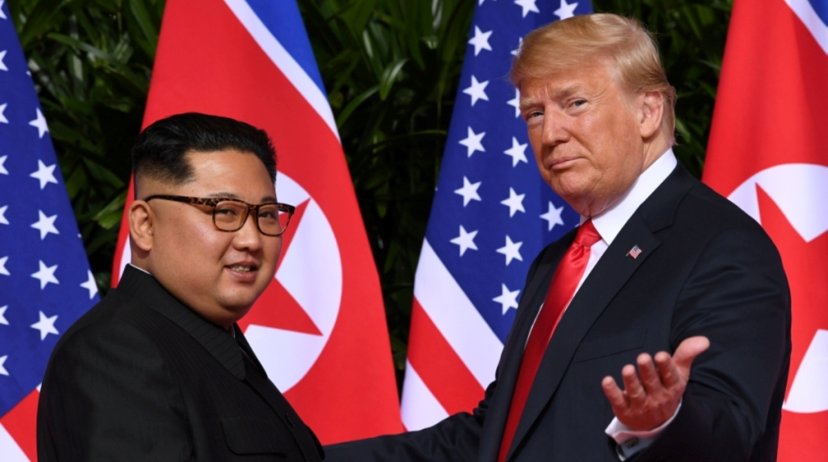 Donald Trump, Kim Jong-un, North Korea, Nuclear Missile, Parade