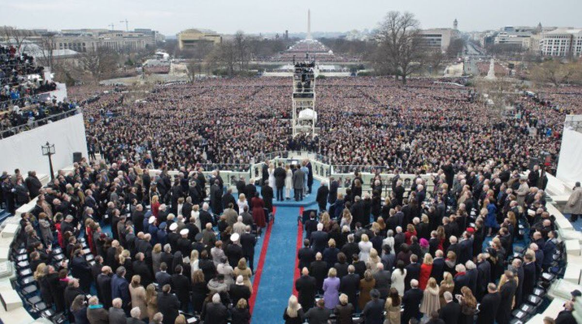 Trump inauguration pictures
