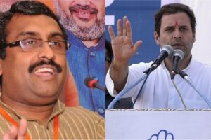 Eternally young leaders unable to imbibe Indian values: Ram Madhav jibes at Rahul Gandhi