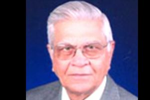 Noted economist, Padma Bhushan awardee, VS Vyas passes away