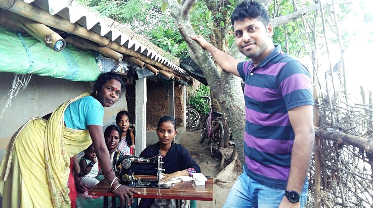 Software professional, IBM job, Transform, Tribal women, Vikash Das