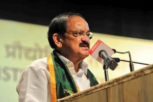 Make social service mandatory for students, says Vice President Venkaiah Naidu