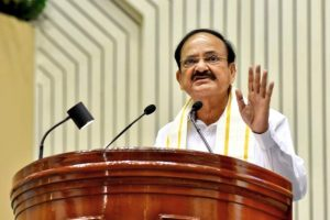 Vice President Naidu bats for global policy for info exchange on fugitives