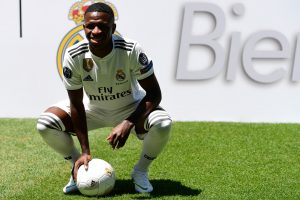 Real Madrid start preparations for Betis clash without Vinicius
