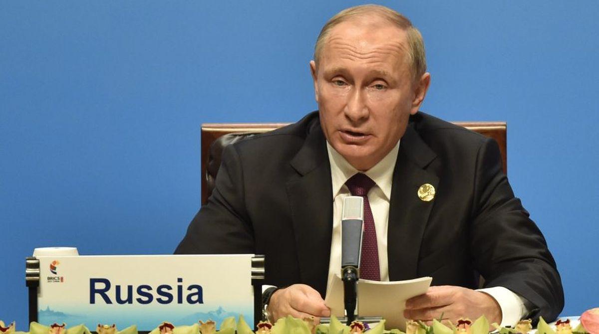 Vladimir Putin, Russian President, peace-loving state, Russia