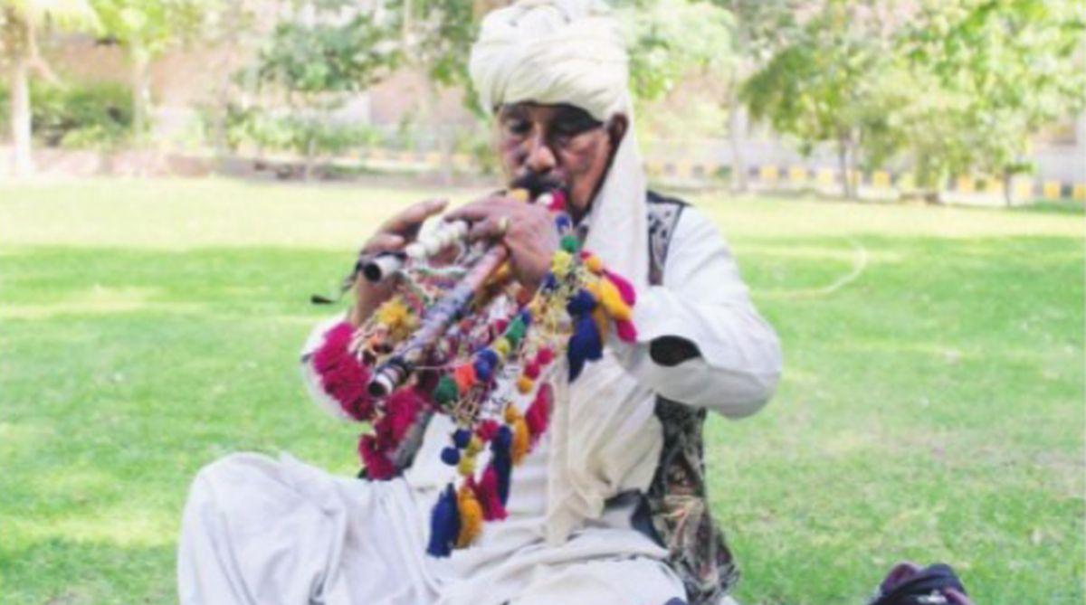 alghoza, Sindhi music,Ustad Ameer Ali Khan,Sindh dancing,Fateh Muhammad,Zulifqar Ali Qureshi, Weenhoo Mal