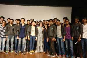 Yami Gautam conversed with IIT students on Mental Health