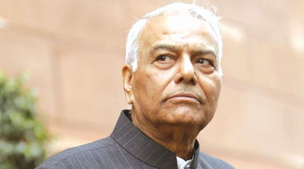 Indian rupee, coma, rupee falls, Yashwant Sinha, Former Finance Minister