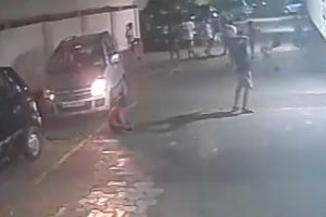 WATCH | Eight-year-old Mumbai boy survives after being run over by car