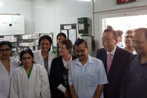 Ban Ki-Moon impressed by Mohalla Clinics