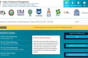 CAT 2018: Image correction window to close today, edit details now at iimcat.ac.in