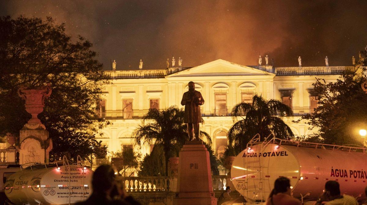 Brazil,National Museum,Rio de Janeiro, cultural history, Bendegó meteorite,Egyptology,Luzia