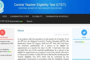 Form correction process for CTET 2018 begins | Check now at ctet.nic.in