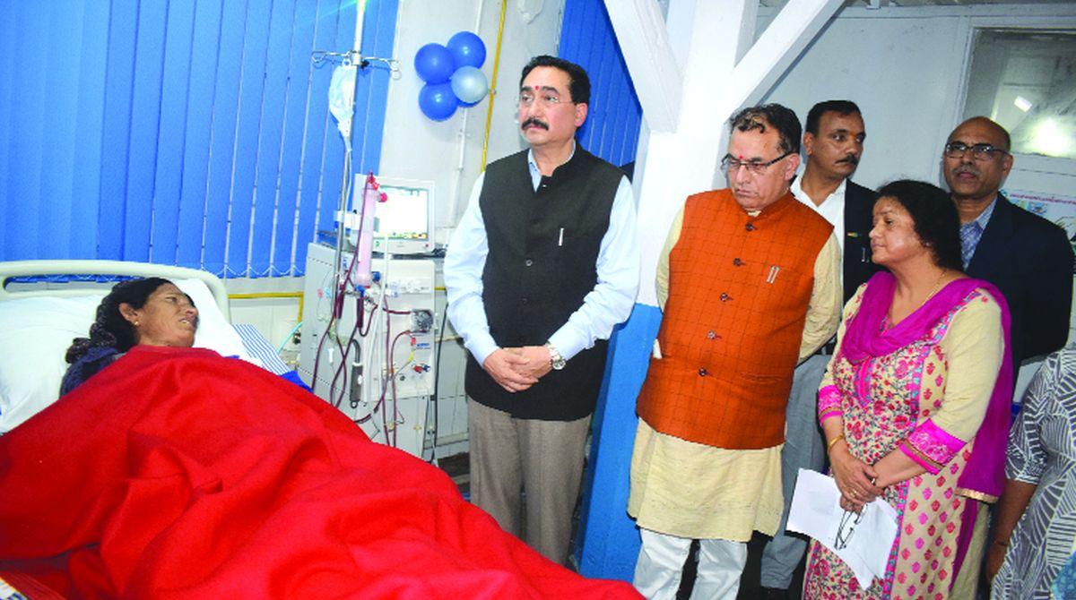 Himachal Pradesh, Deen Dayal Upadhyaya Hospital, Suresh Bhardwaj,Vipin Singh Parmar,Jai Ram Thakur, digital X-ray machine