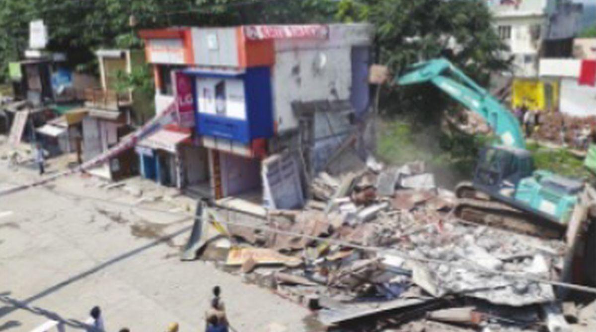 anti-encroachment drive, Dehradun, Uttarakhand High Court,demolition drive,Premnagar, Arvind Pandey, illegal encroachments