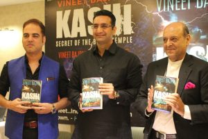 Kashi – Secret of the Black Temple, third and final book of Harappa trilogy, is out